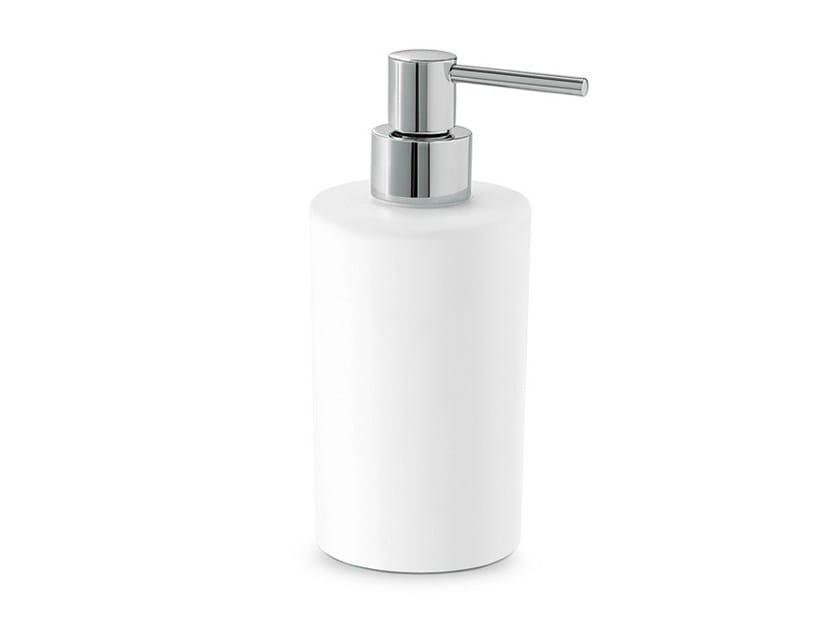 Distributeur de savon de salle de bain en céramique LINFA - O'RAMA ACCESSORIES | Distributeur de savon de salle de bain by newform