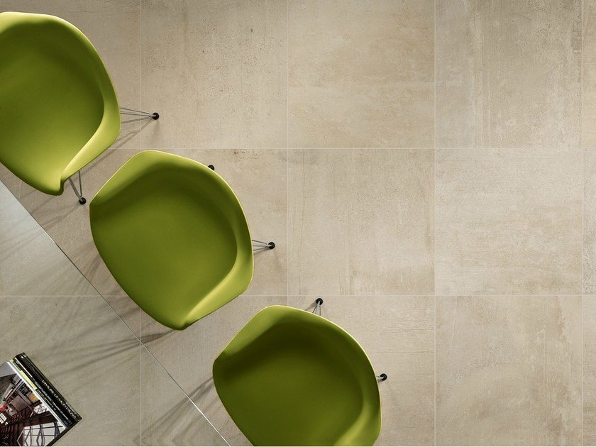 Porcelain stoneware wall/floor tiles with resin effect RESINE SABLE by EDIMAX CERAMICHE
