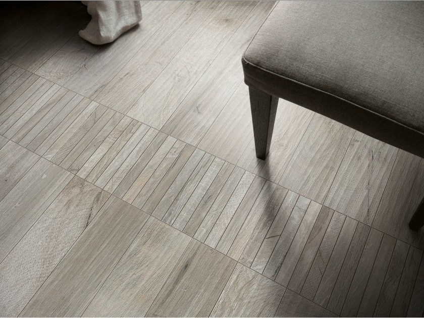 Porcelain stoneware wall/floor tiles with wood effect WOOD_KER GREY by EDIMAX CERAMICHE