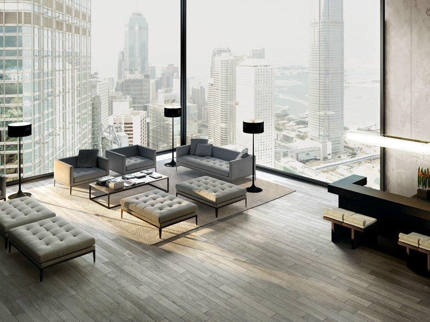 Porcelain stoneware wall/floor tiles with wood effect SELECT ASH by EDIMAX CERAMICHE