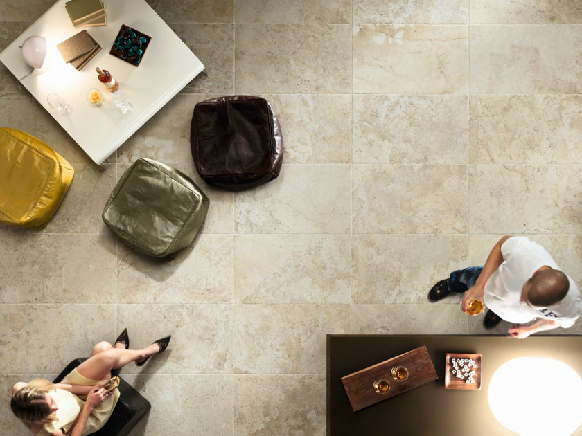 Porcelain stoneware wall/floor tiles with marble effect INSTONE BONE by EDIMAX CERAMICHE