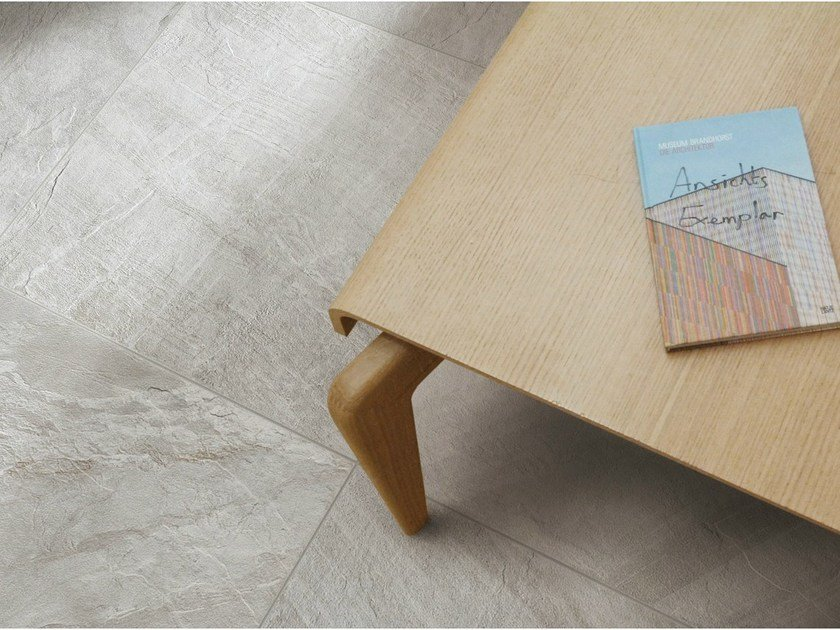 Porcelain stoneware wall/floor tiles with stone effect NORDICA GRIGIA by EDIMAX CERAMICHE