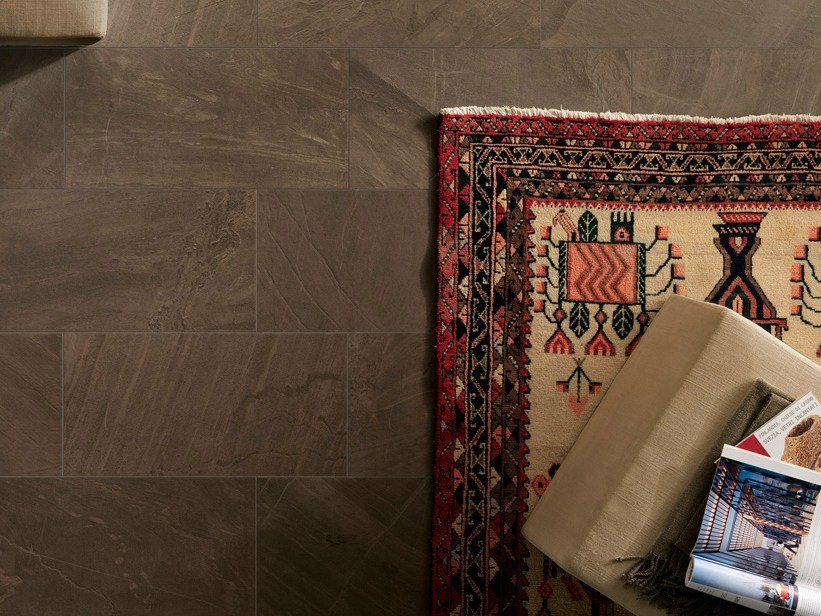 Porcelain stoneware wall/floor tiles with stone effect NORDICA BRUNA by EDIMAX CERAMICHE