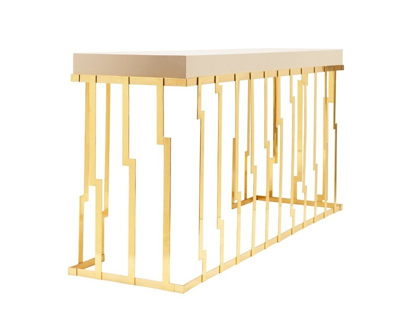 Lacquered rectangular console table CLIFF by Ginger & Jagger
