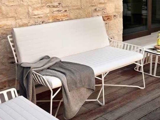 2 seater garden sofa HAMPTONS GRAPHICS | 2 seater garden sofa by Roberti Rattan