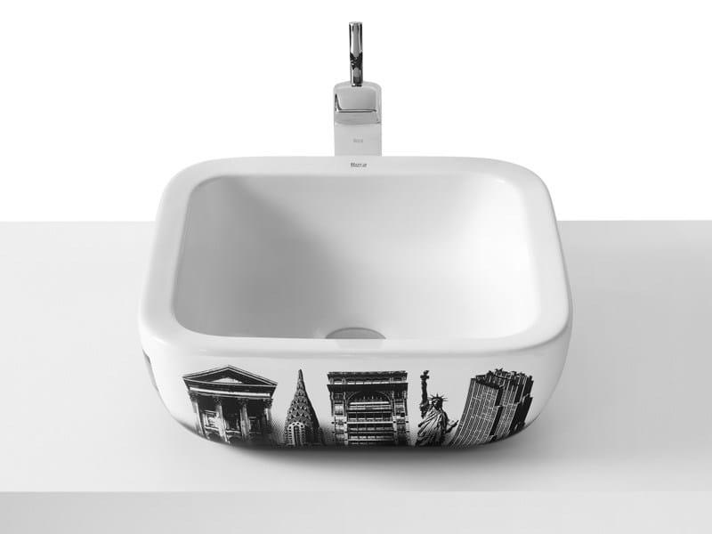 Lavabo Urbi 1 De Roca.Countertop Washbasin Urban By Roca Sanitario