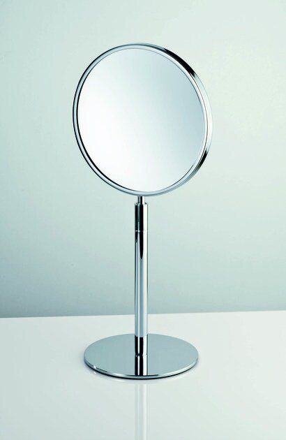 Countertop round shaving mirror SPT 11 by DECOR WALTHER