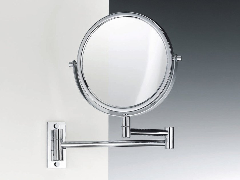 Round wall-mounted shaving mirror SPT 33 by DECOR WALTHER