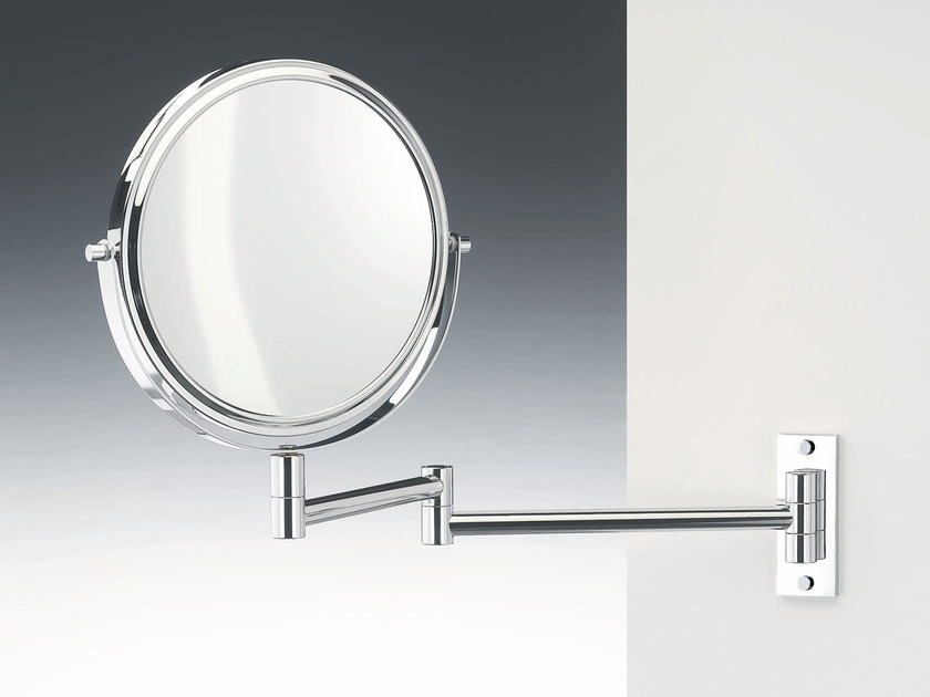 Round wall-mounted shaving mirror SPT 30 by DECOR WALTHER