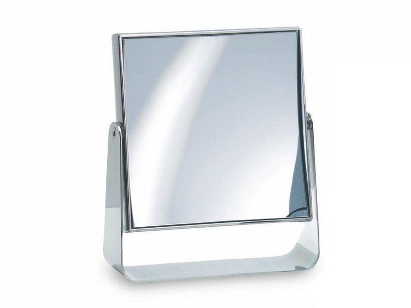 Countertop square shaving mirror SPT 67 by DECOR WALTHER