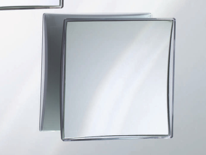 Square wall-mounted shaving mirror SPT 41 by DECOR WALTHER