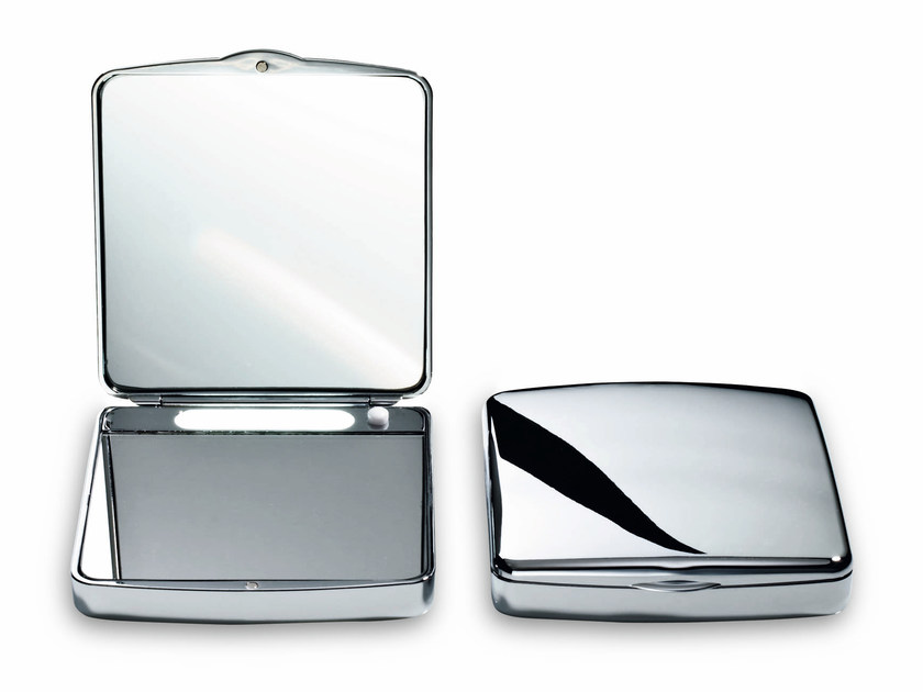 Square countertop shaving mirror TS 1 by DECOR WALTHER