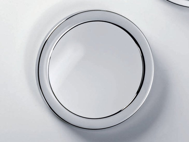 Round wall-mounted shaving mirror SPT 1 by DECOR WALTHER