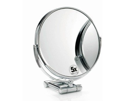 Round wall-mounted shaving mirror SPT 50 by DECOR WALTHER