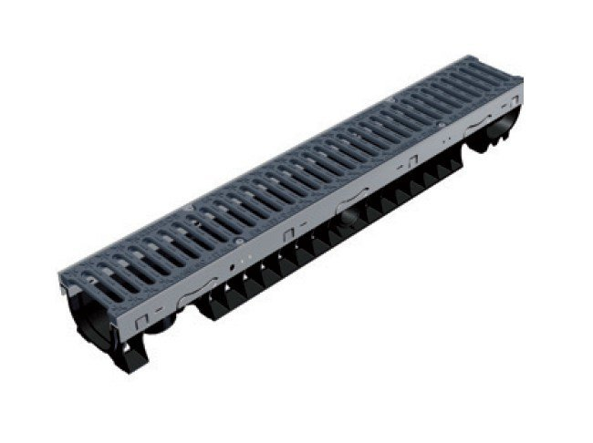 Drainage channel and part PLASTIC FLY 100 LOW by GRIDIRON GRIGLIATI