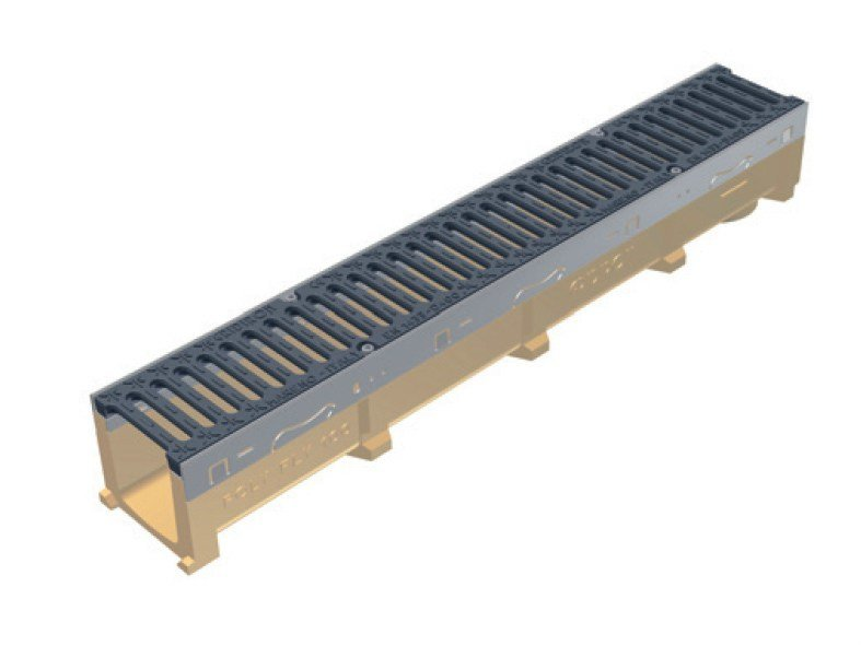 Drainage channel and part POLY FLY 100 by GRIDIRON GRIGLIATI