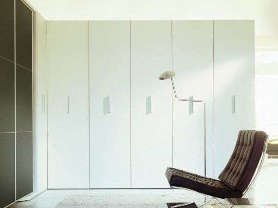Sectional wardrobe with drawers STORAGE by CLEI