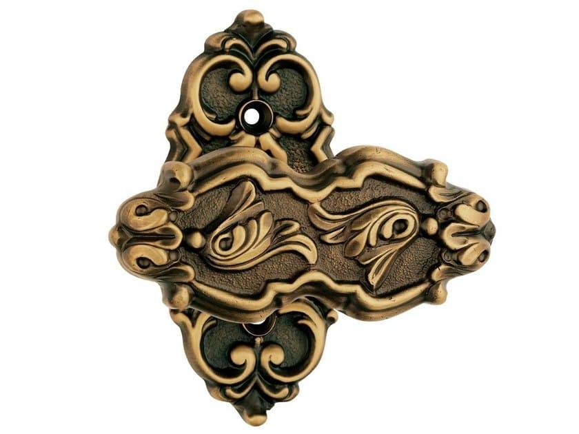 Chromed brass door knob EPOCA   Door knob by LINEA CALI'