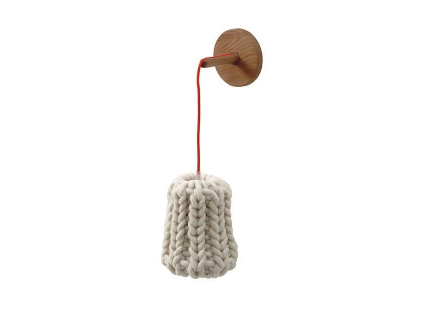 Wool wall lamp GRANNY   Wall lamp by Casamania & Horm