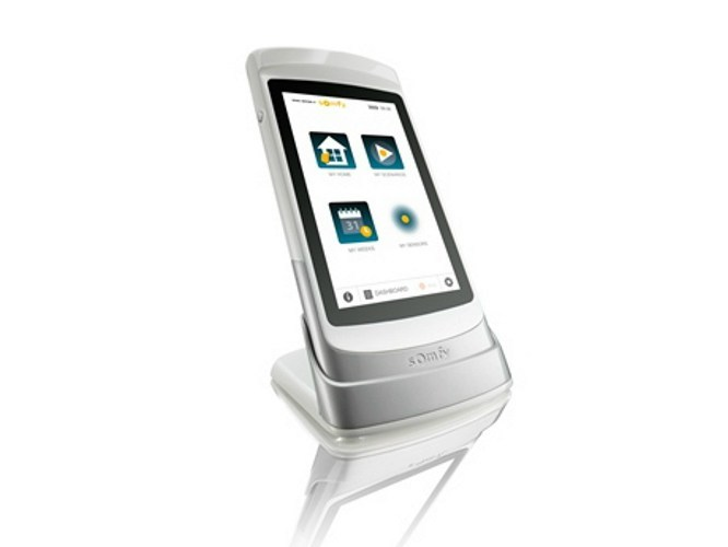 Building automation system interface TAHOMA PAD IO by SOMFY ITALIA