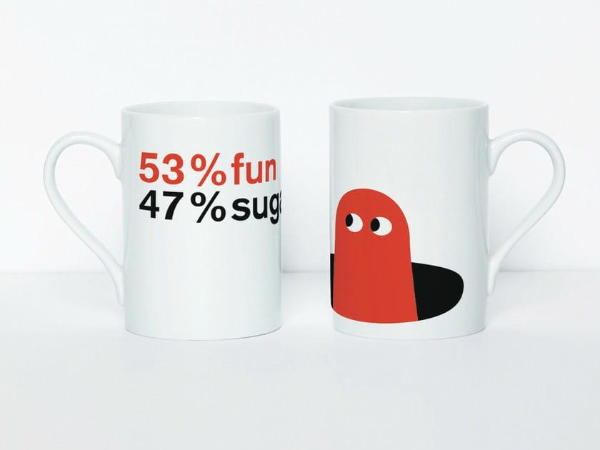 Tazza 53% FUN by Moustache