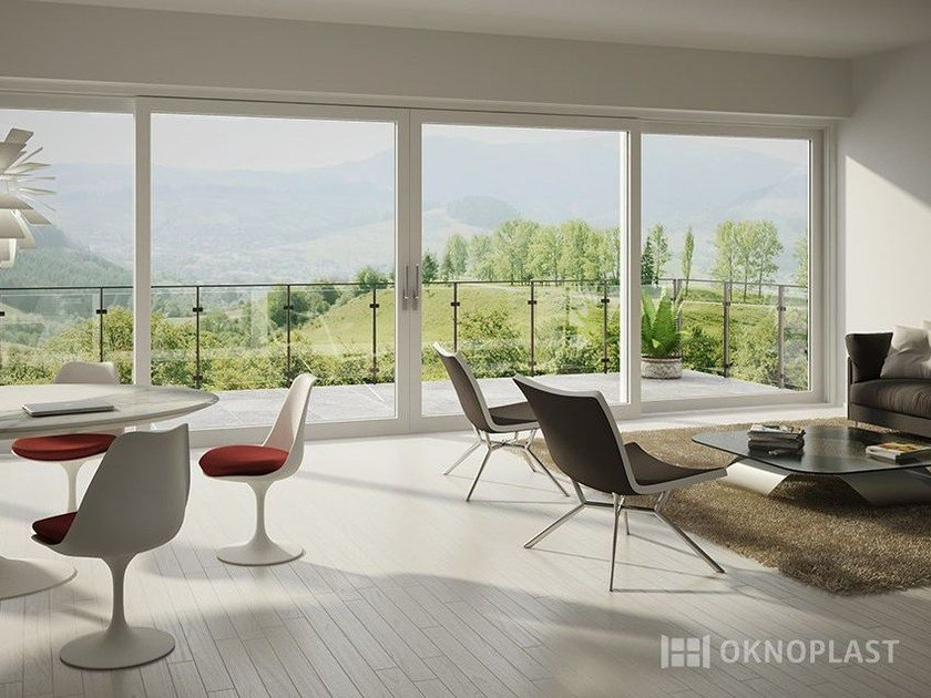 PVC patio door HST | Patio door by Oknoplast