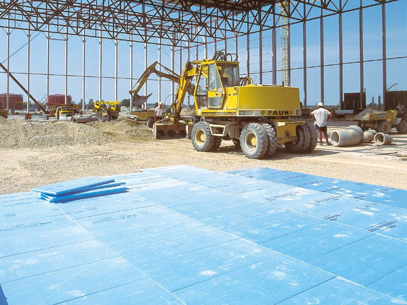 XPS thermal insulation panel FLOORMATE 700 by DOW Building Solutions