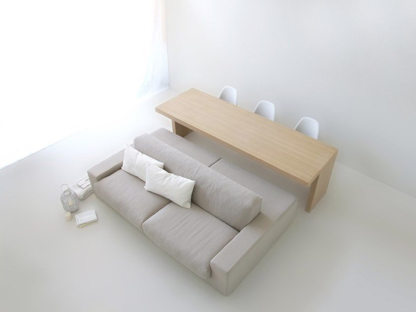 Sofa / table ISOLAGIORNO™ CLASS+SOLID by LAYOUT ISOLAGIORNO
