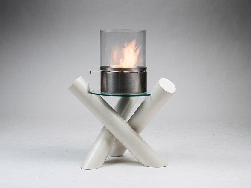Bioethanol freestanding fireplace FALO' by Officine del Fuoco