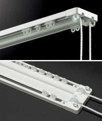 rail pour rideaux pr t suspendre surf 324 by mottura. Black Bedroom Furniture Sets. Home Design Ideas