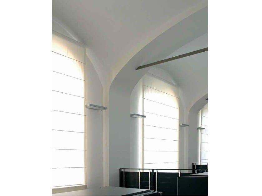 Roman blinds headrail SOFTBOX 440 by Mottura