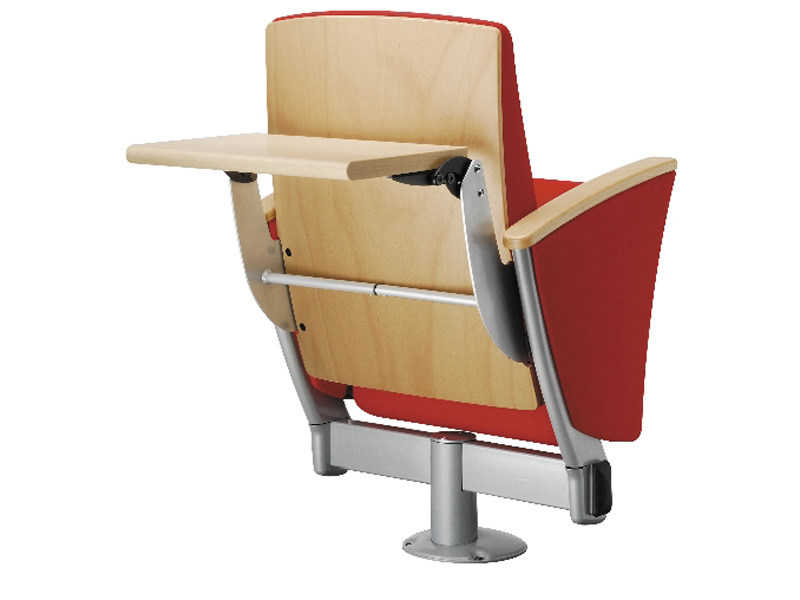 Wooden auditorium seats with writing tablet EIDOS WOOD by Ares Line