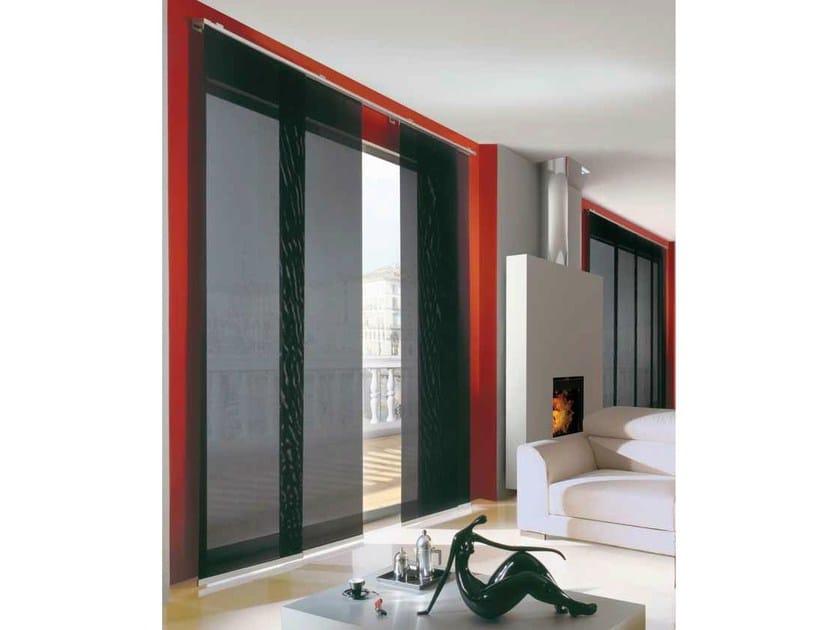 Panel curtains headrail ORIENTE 542-3-4-5 by Mottura