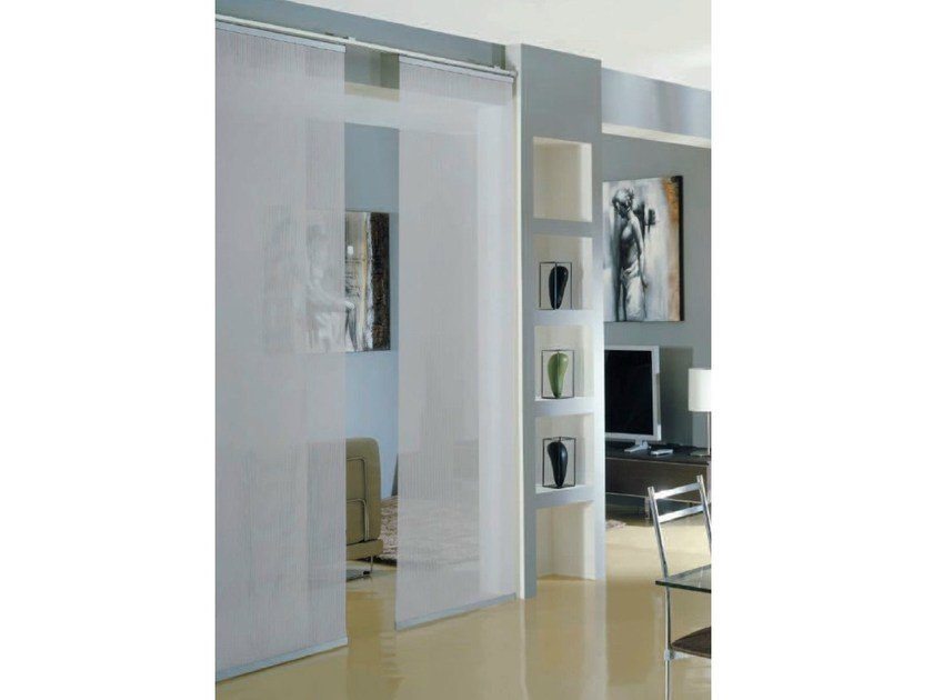 Panel curtains headrail oriente futura by mottura - Tende a pannelli ikea ...
