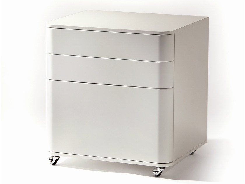Office drawer unit with casters COSIMO by Adentro