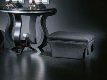 Upholstered pouf ELEGANCE by Transition by Casali