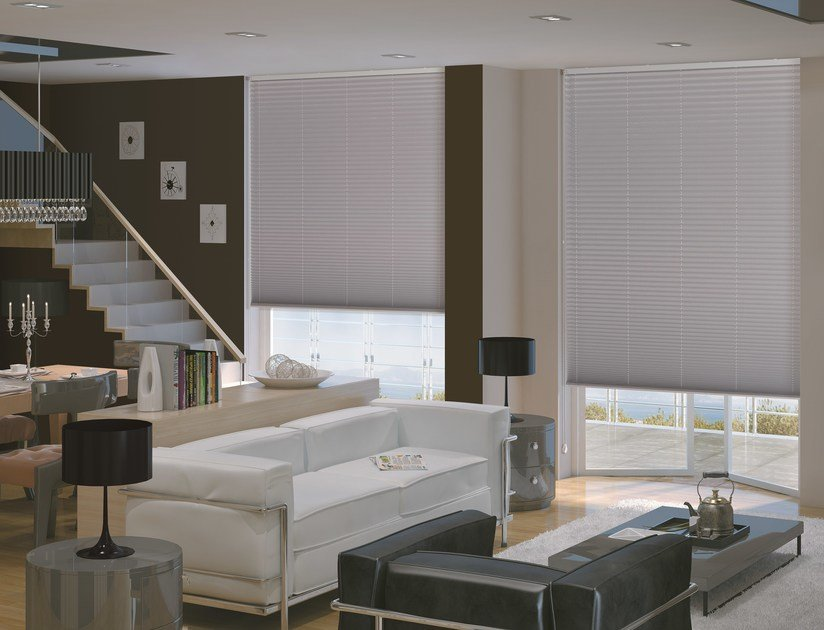 Pleated blinds headrail PLÌ 353/2 by Mottura