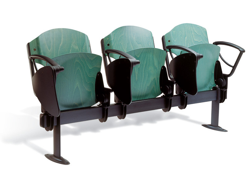 Beam seating with tip-up seats OMNIA CONTRACT TIP UP by Ares Line