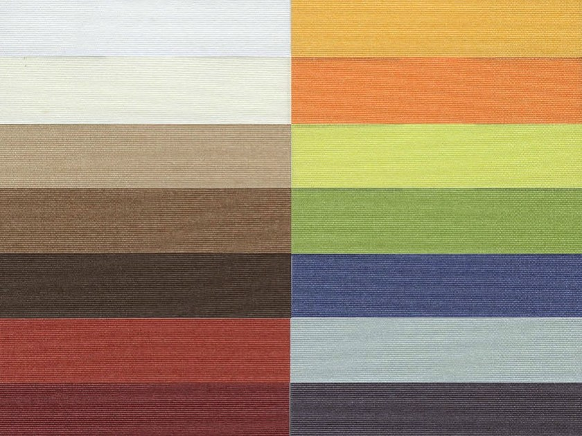 Fire retardant pleated Trevira® CS fabric for curtains AMBIENTE F.R. by Mottura