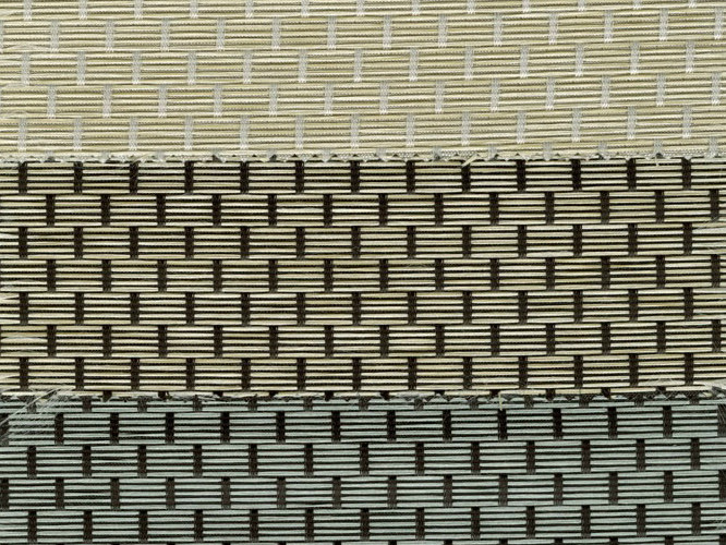 Fire retardant Trevira® CS fabric for curtains AVALON 2 by Mottura