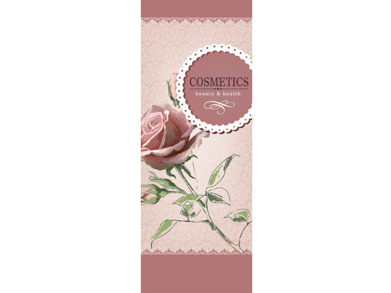 Washable writing nonwoven wallpaper LUVCOSMETIC © by LGD01