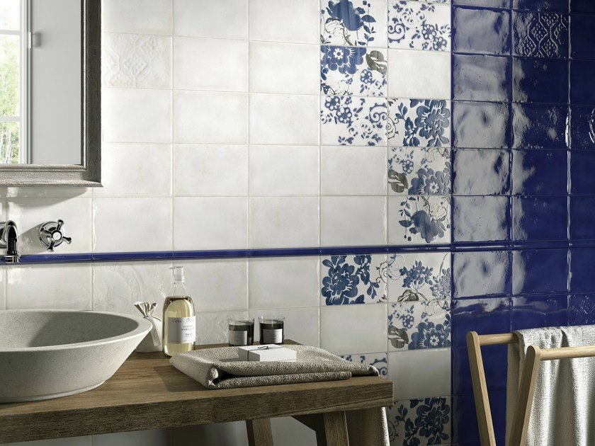 Double-fired ceramic wall tiles IMOLA 1874 by Ceramica d'Imola