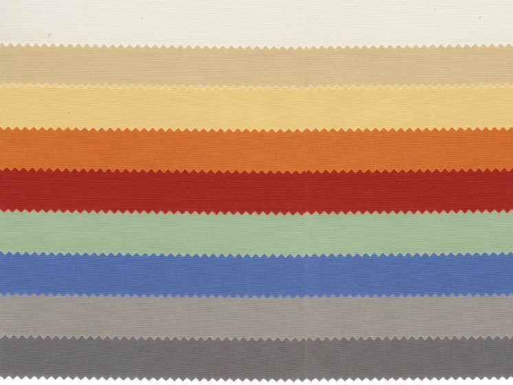 Polyester fabric for curtains DOMIN by Mottura