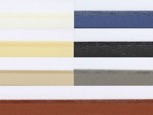 Pleated fabric for curtains DUETTE by Mottura