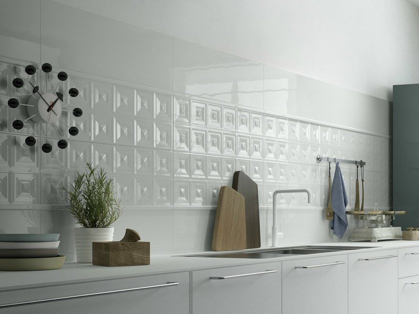 Double-fired ceramic wall tiles NUANCE by Ceramica d'Imola