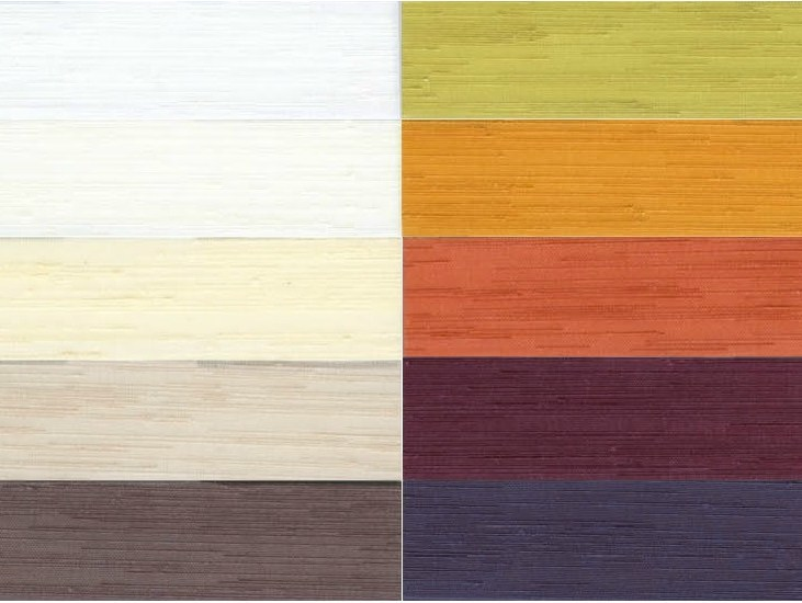 Pleated polyester fabric for curtains PANORAMA by Mottura