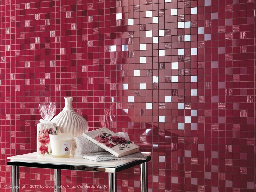 White-paste mosaic MAGNIFIQUE | White-paste mosaic by Atlas Concorde