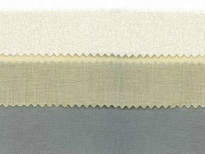 Thermal polyester fabric for curtains THERMOTEC by Mottura