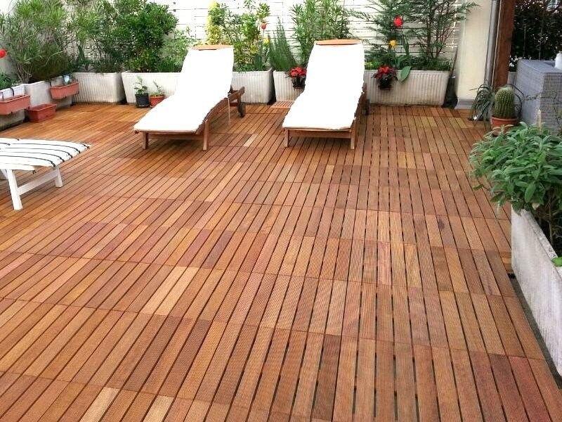 Wooden decking DÉCOTILES by Déco