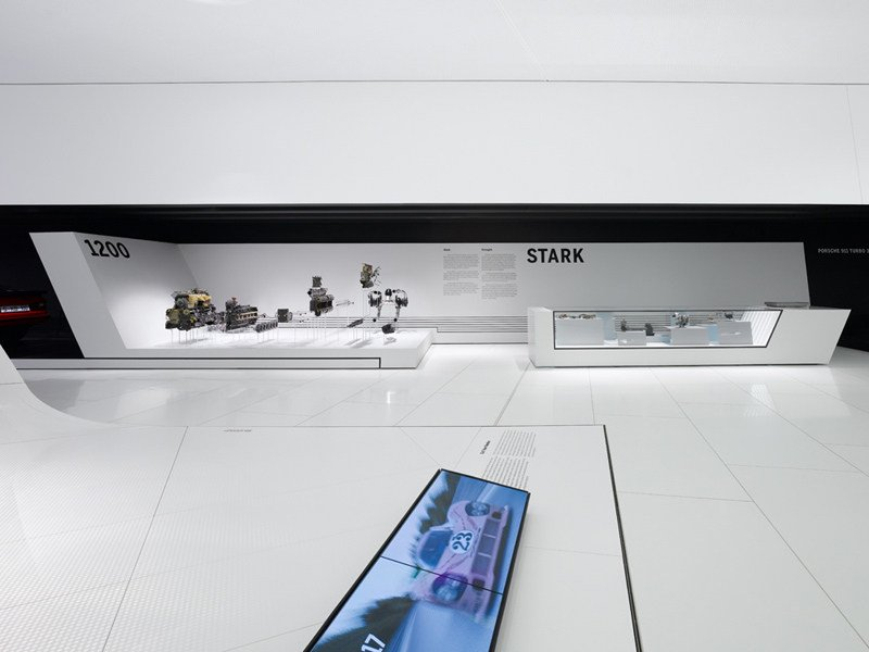 HI-MACS® Porsche Museum Germany - Design: Delugan-Meissl ZT GmbH - Photo Credits Zooey Braun Fotografie